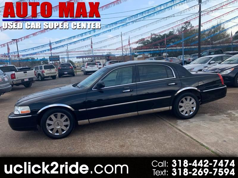 2003 Lincoln Town Car 4dr Sedan Cartier