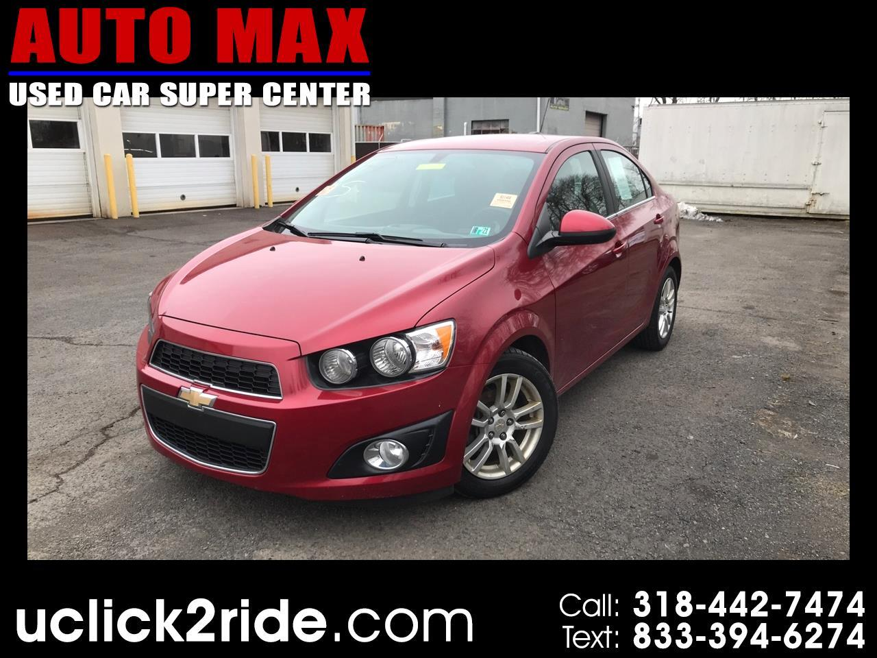Chevrolet Sonic 4dr Sdn Auto LT 2016