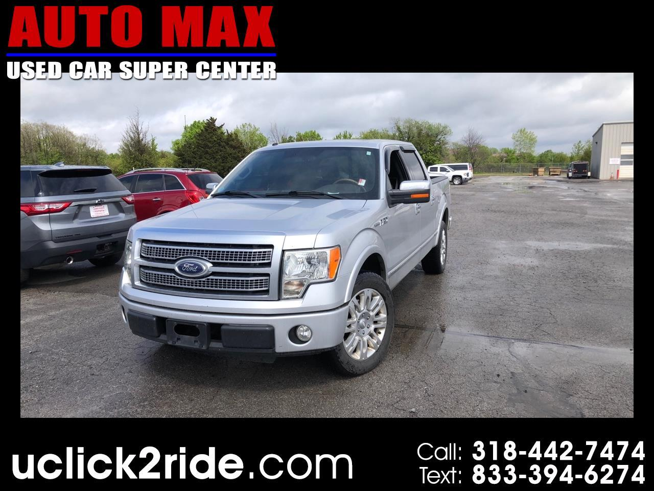 "Ford F-150 2WD SuperCrew 145"" Platinum 2010"