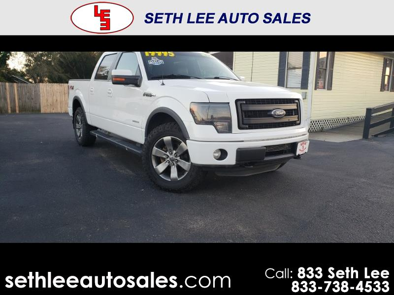 2013 Ford F-150 Lariat SuperCrew 4WD 6.2L