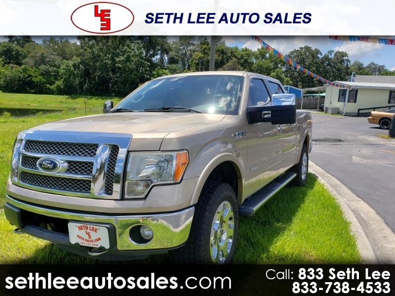 "Ford F-150 4WD SuperCrew 139"" FX4 2011"