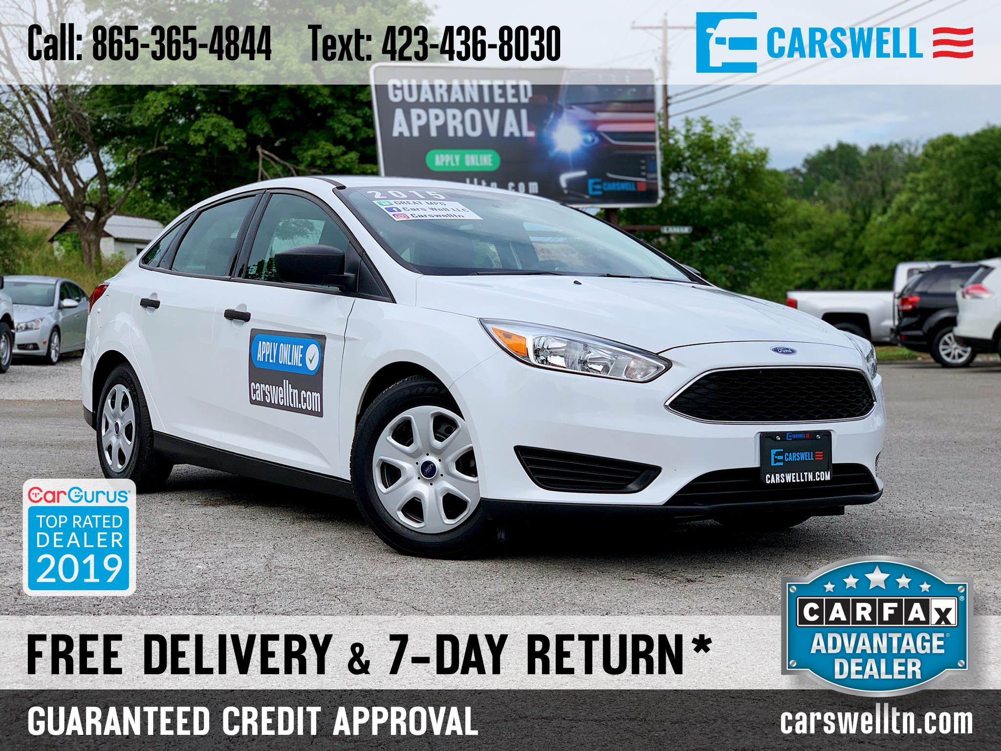 2015 Ford Focus 4dr Sdn S