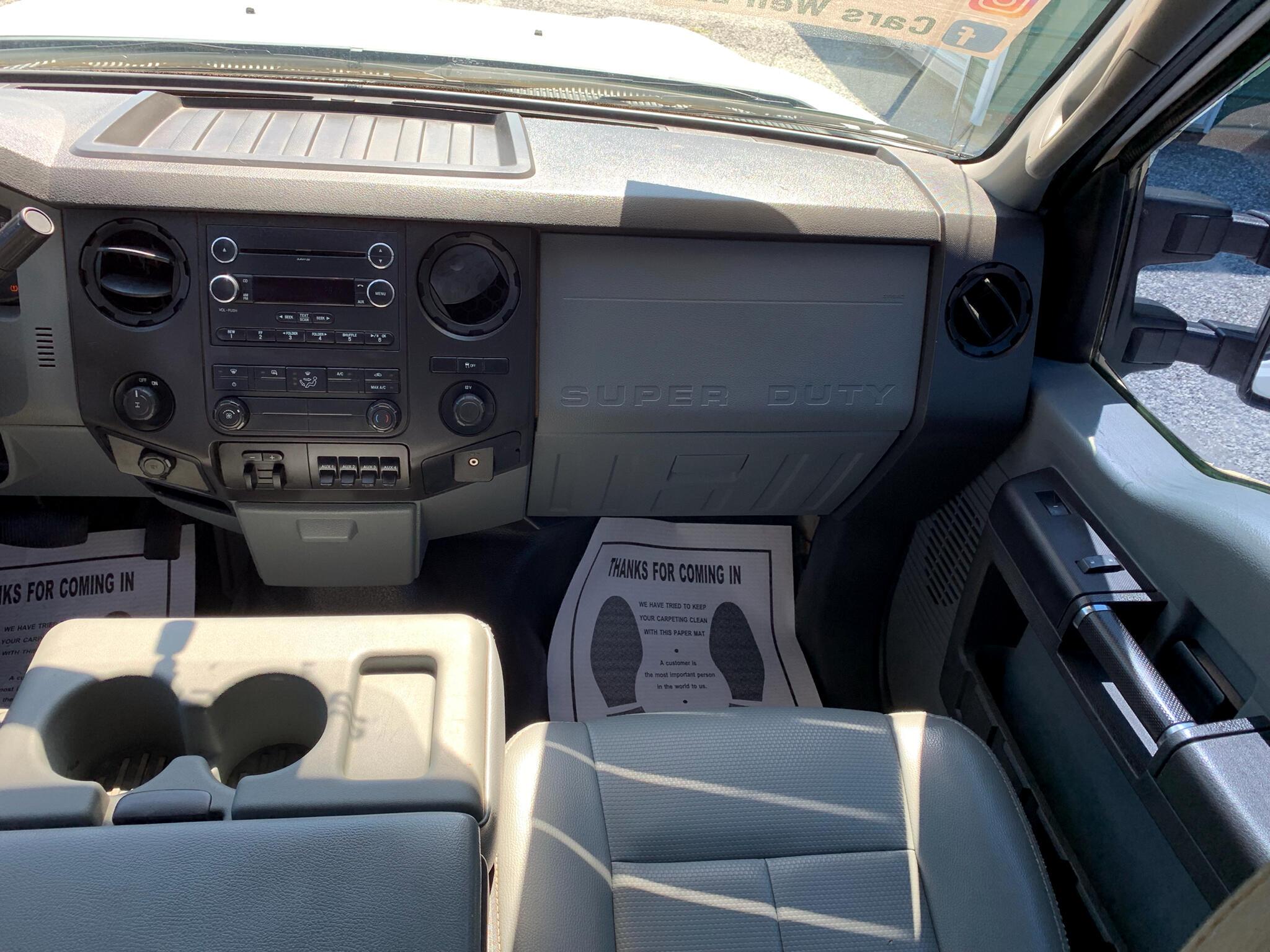 2012 Ford Super Duty F-250 SRW 2WD Crew Cab 156