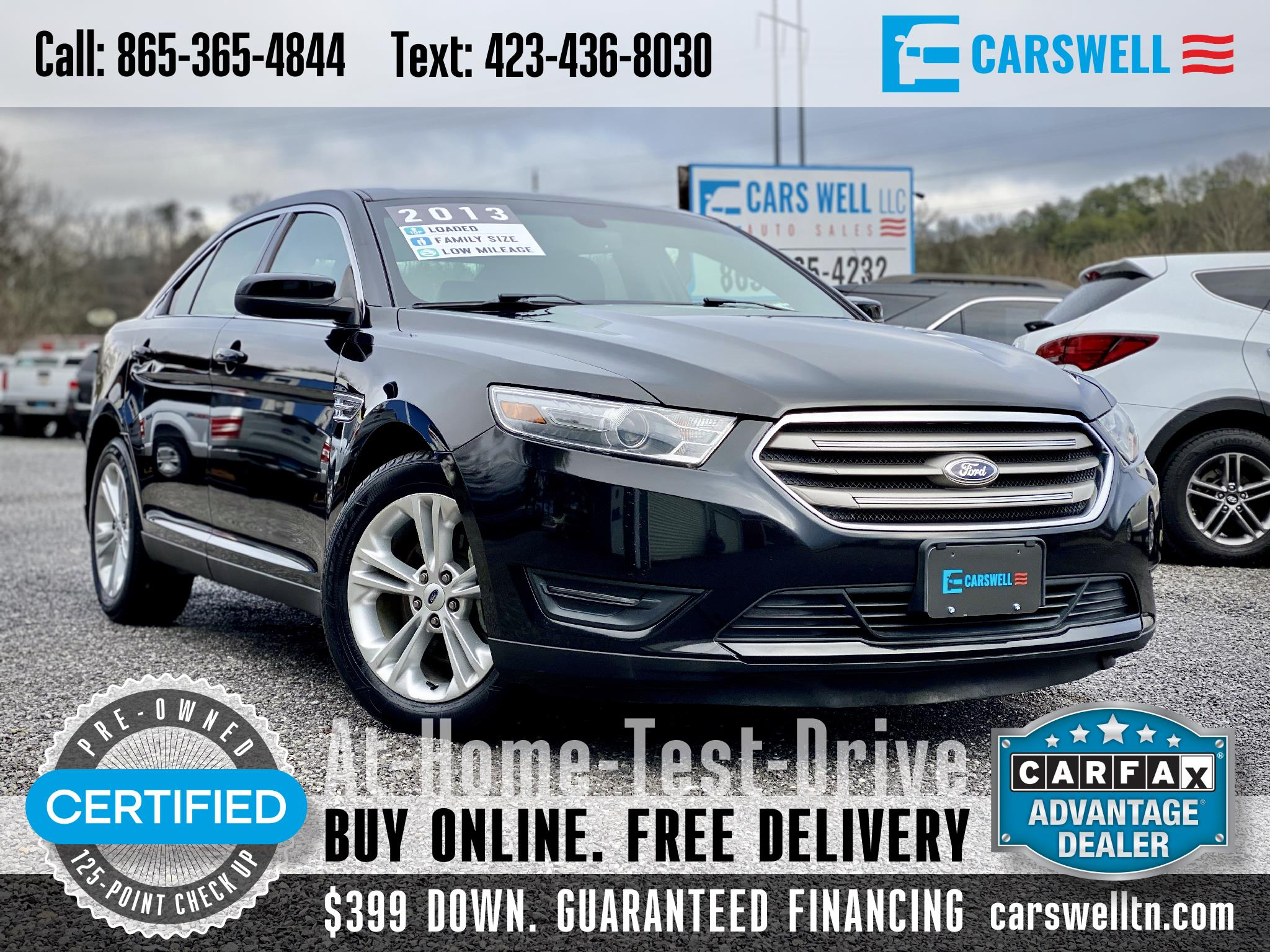 Ford Taurus 4dr Sdn SEL FWD 2013
