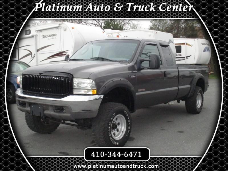 2004 Ford F-250 SD XL SuperCab Long Bed 4WD