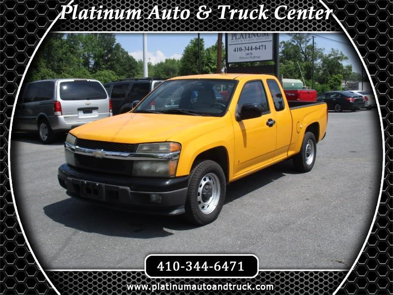 2009 Chevrolet Colorado Work Truck Ext. Cab 2WD