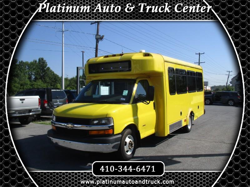 2012 Chevrolet Express g3500 SHUTTLE BUS