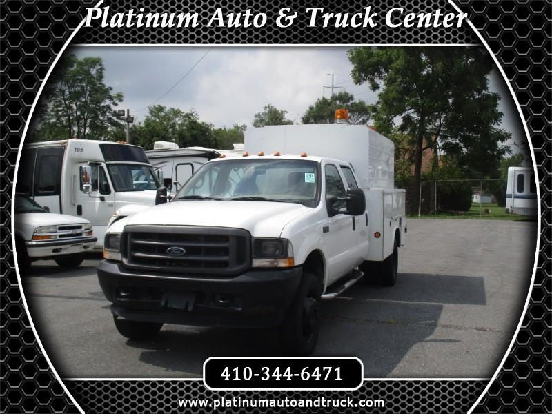 2002 Ford F-450 SD Crew Cab 2WD DRW