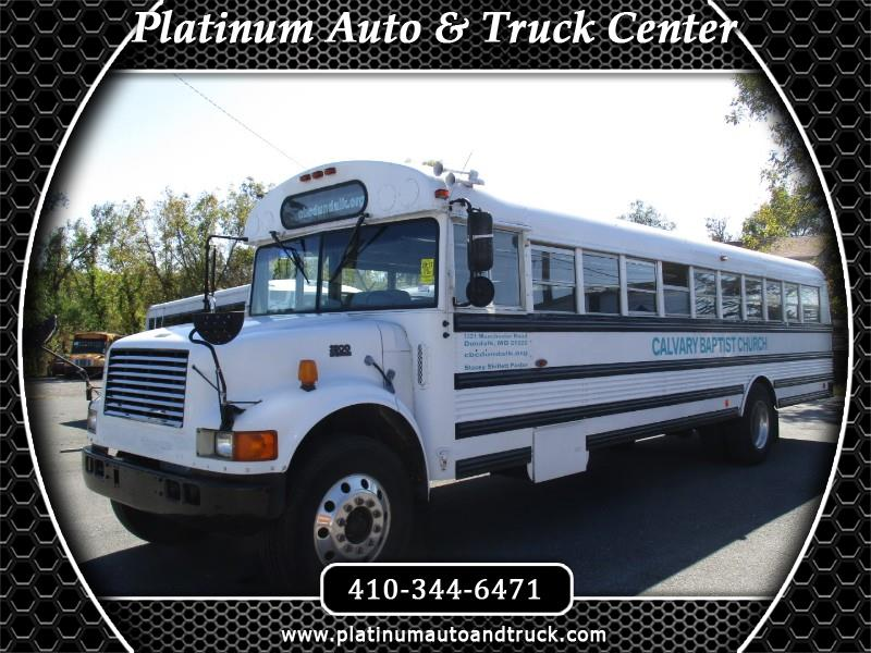 1997 International 3800 school bus