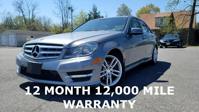 Mercedes-Benz C-Class C300 4MATIC Sport Sedan 2012