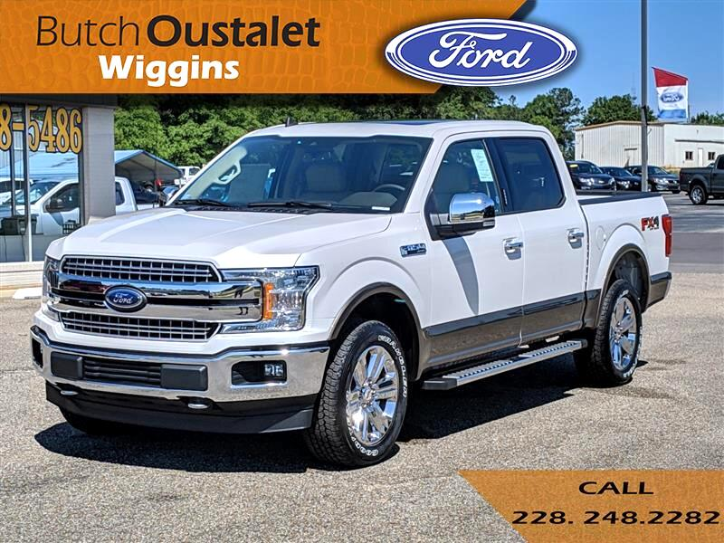Butch Oustalet Ford >> New 2019 Ford F-150 LARIAT for Sale in Wiggins MS 39577 Butch Oustalet INC.
