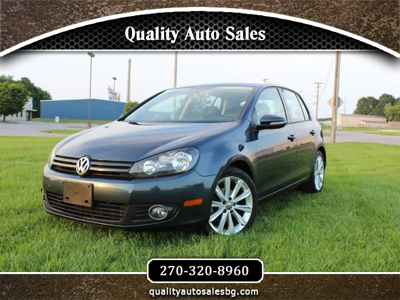 Volkswagen Golf 2.0L TDI w/Tech Package 4 Door 2012