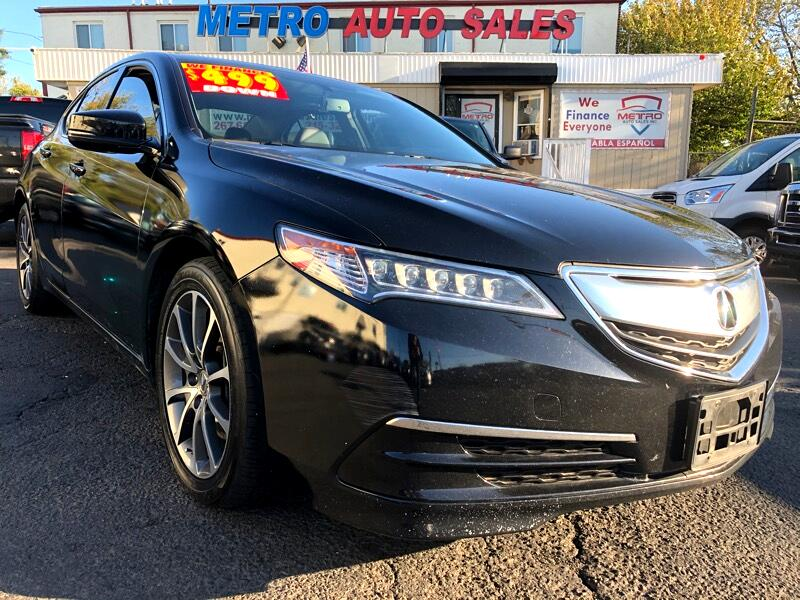 Acura TLX 9-Spd AT 2017