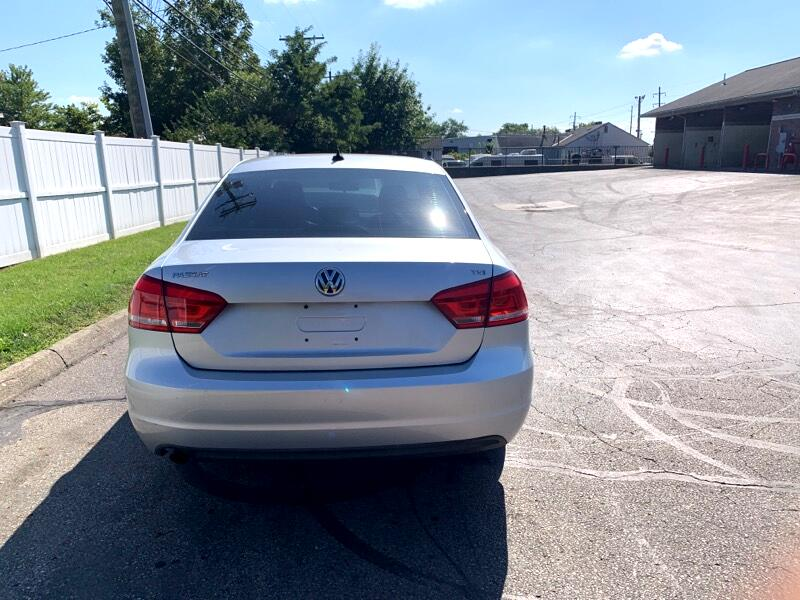 2014 Volkswagen Passat 4dr Sdn 1.8T Auto Wolfsburg Ed
