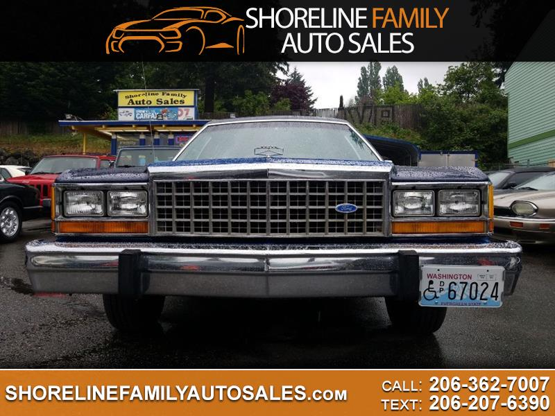 1985 Ford LTD Crown Victoria Country Squire