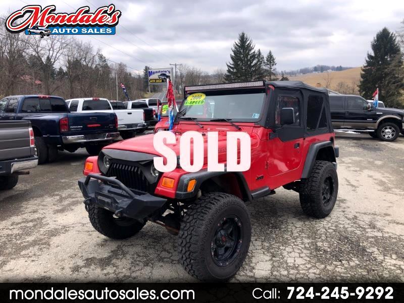 2000 Jeep Wrangler SE for sale VIN: 1J4FA29P2YP748409
