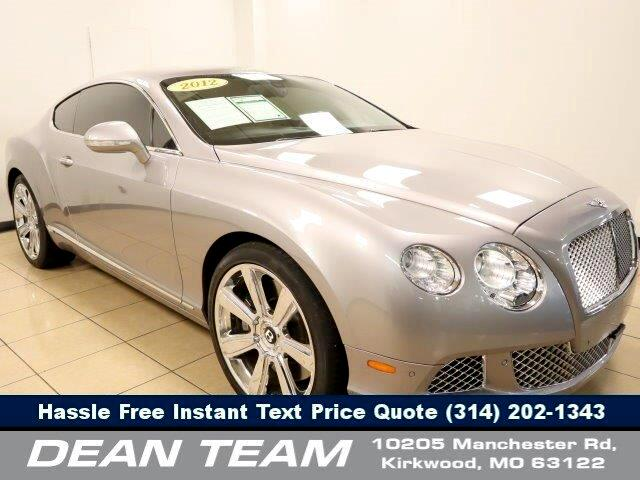 Bentley Continental GT Coupe 2012