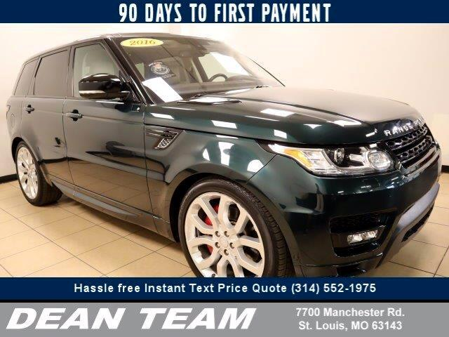 Land Rover Range Rover Sport 5.0L V8 Supercharged Autobiography 2016