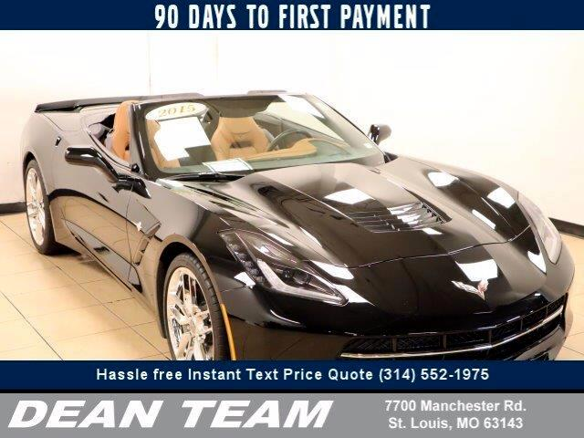 Chevrolet Corvette 3LT Convertible 2015