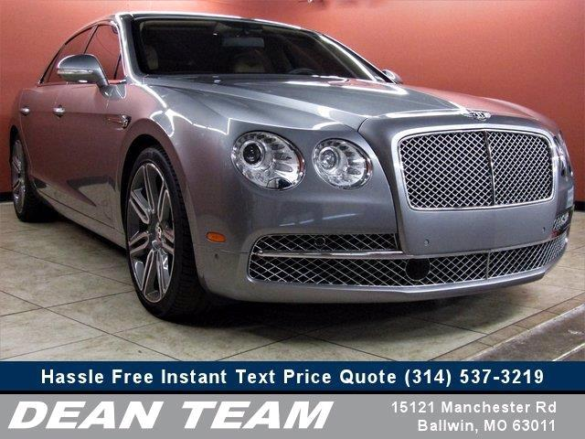 Bentley Continental Flying Spur W12 2016