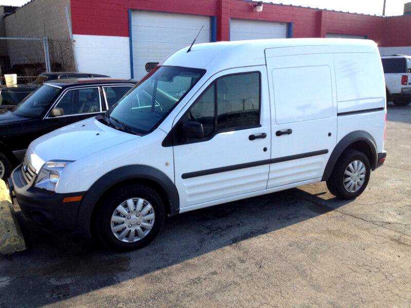 Ford Transit Connect XL with Side and Rear Door Glass 2012