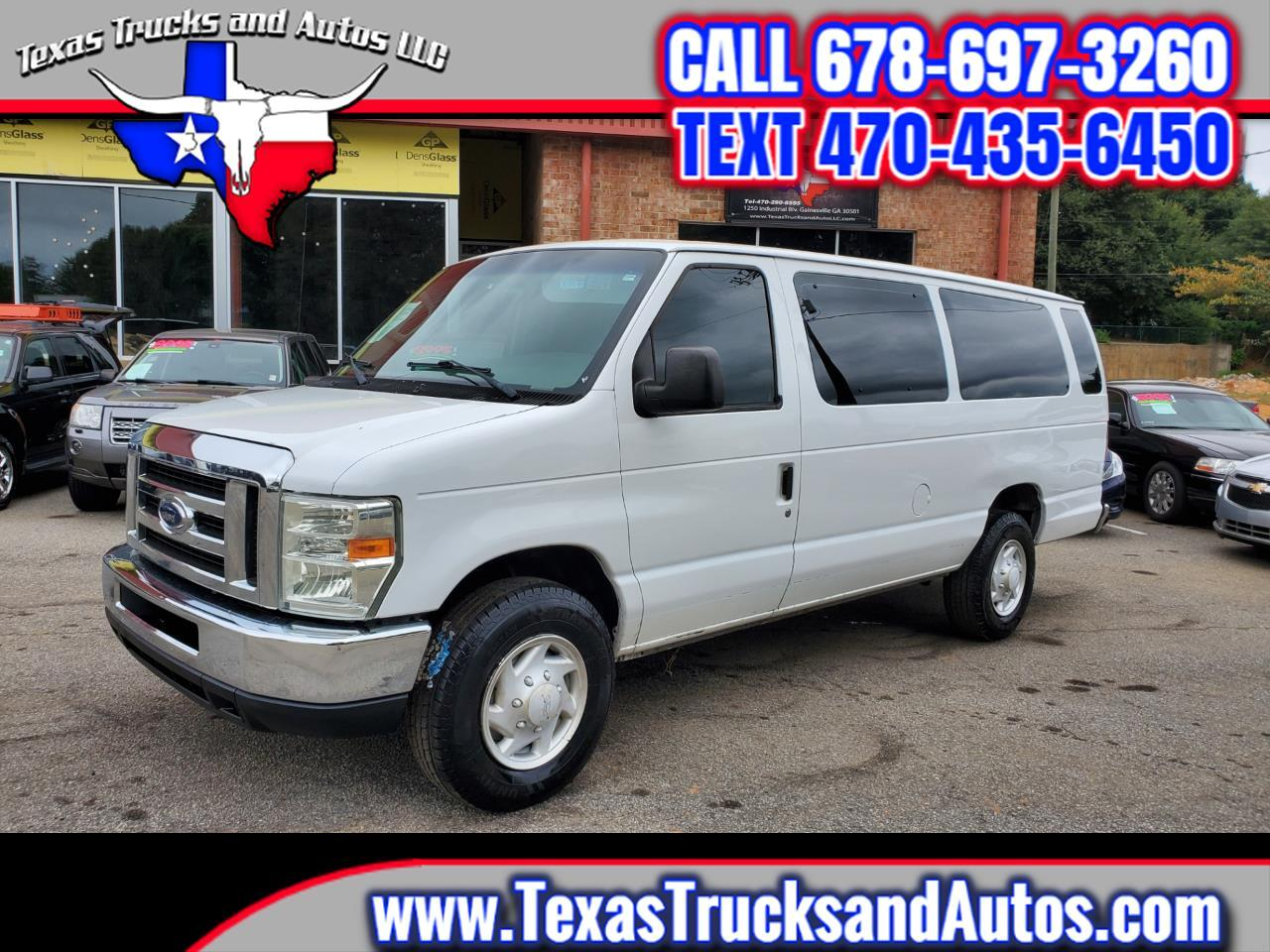 Ford Econoline Wagon E-350 Super Duty Ext XLT 2008