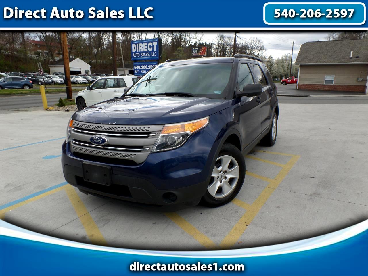 Ford Explorer Base FWD 2012