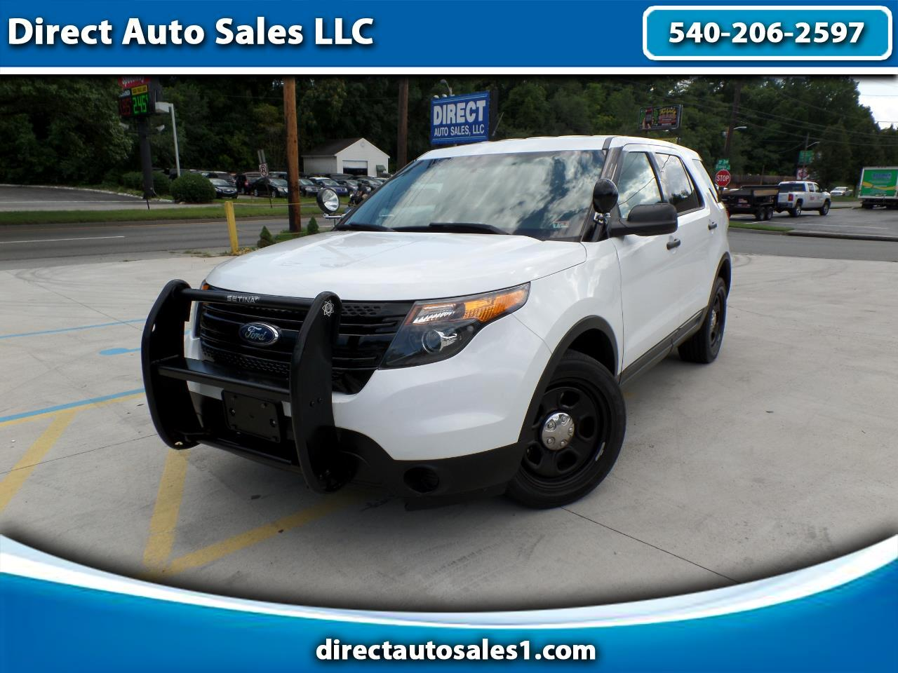 Ford Utility Police Interceptor AWD 4dr 2015