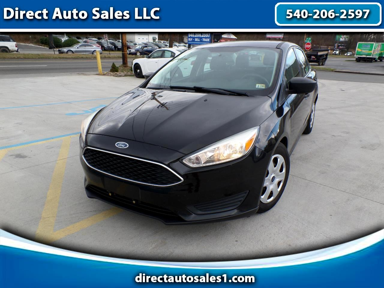 Ford Focus 4dr Sdn S 2015