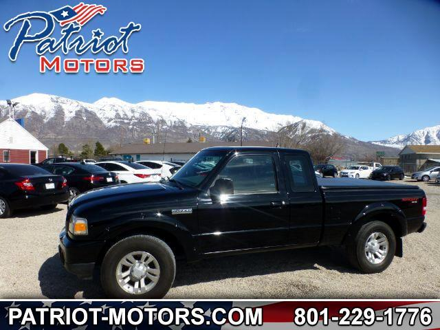 2009 Ford Ranger Sport SuperCab 4-Door 4WD