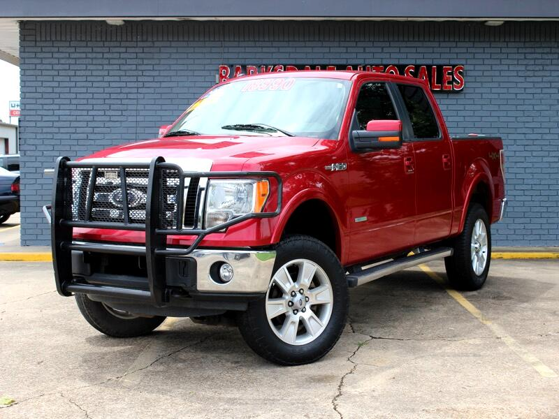 Ford F-150 Lariat SuperCab 4WD 2012