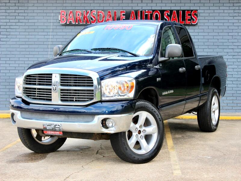 Dodge Ram 1500 SLT Quad Cab Short Bed 4WD 2007