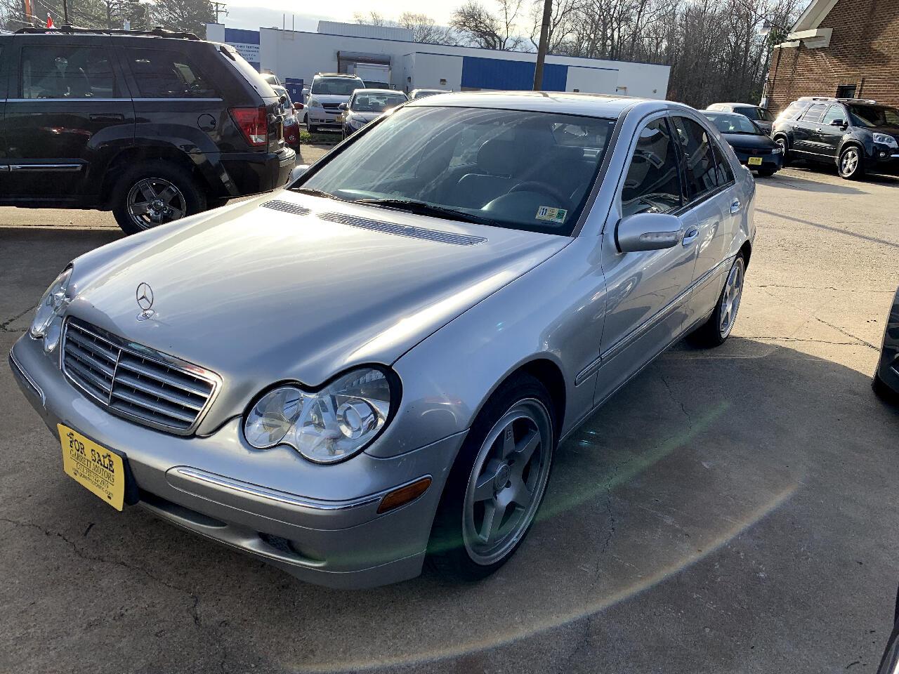 2003 Mercedes-Benz C-Class 4dr Sdn 2.6L