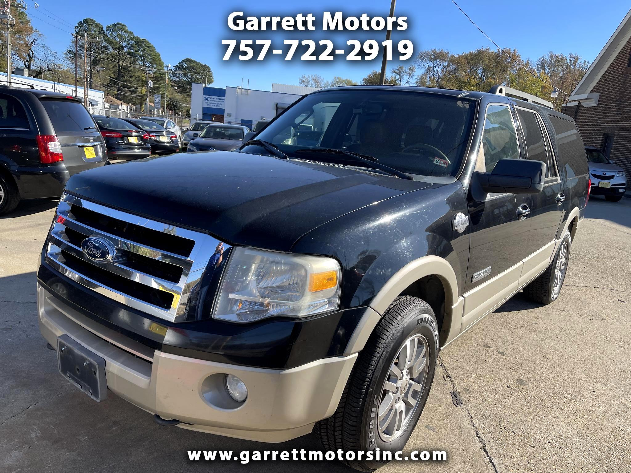 Ford Expedition EL 4WD 4dr King Ranch 2008