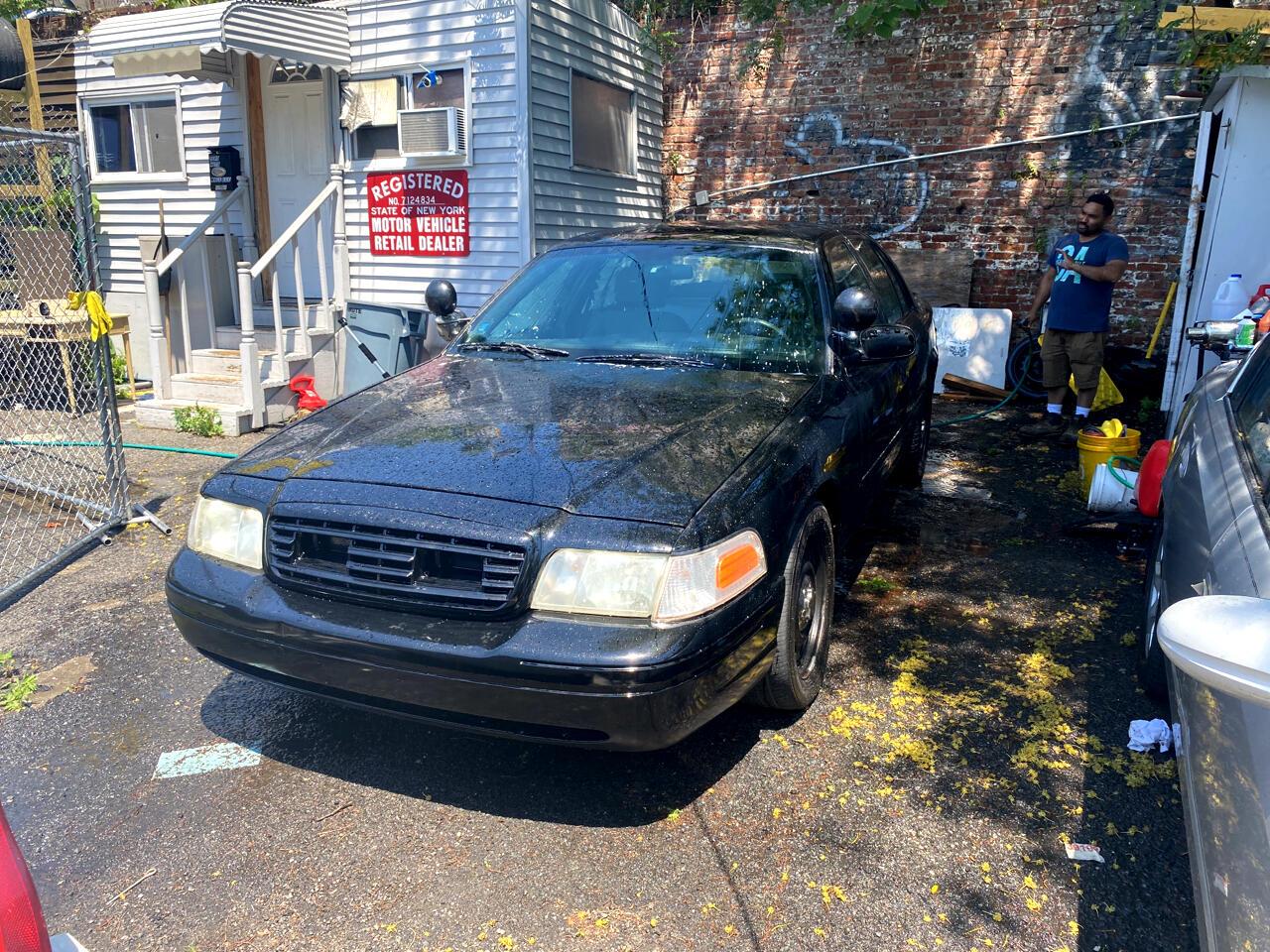 Ford Crown Victoria Police Pkg 4dr Police Interceptor 2007