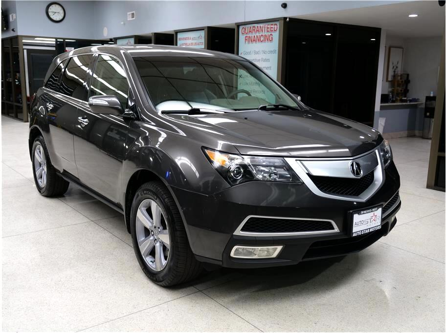 Acura MDX 6-Spd AT w/Tech and Entertainment Package 2012