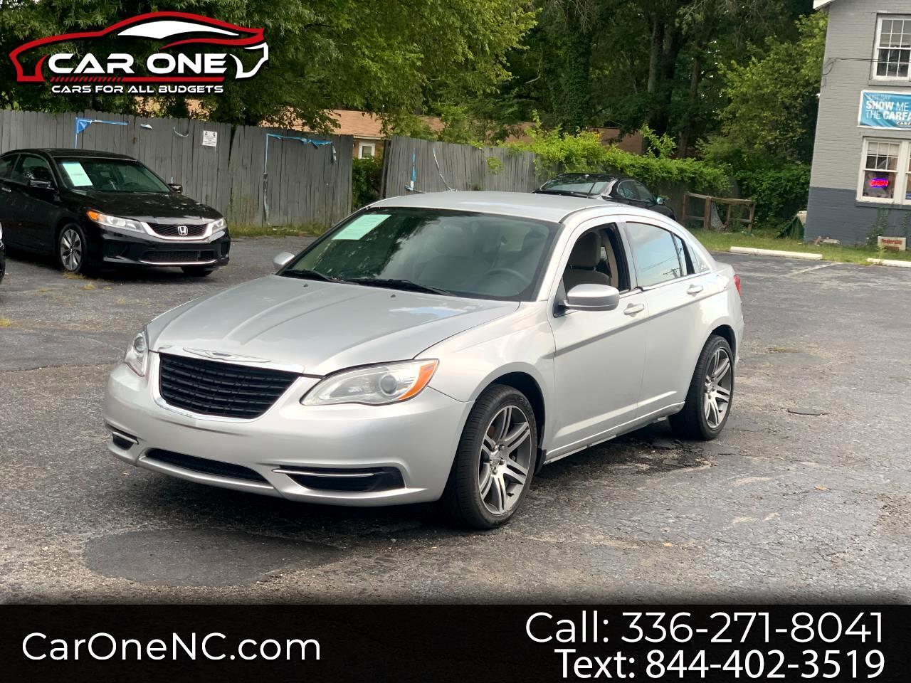 Chrysler 200 4dr Sdn LX 2012