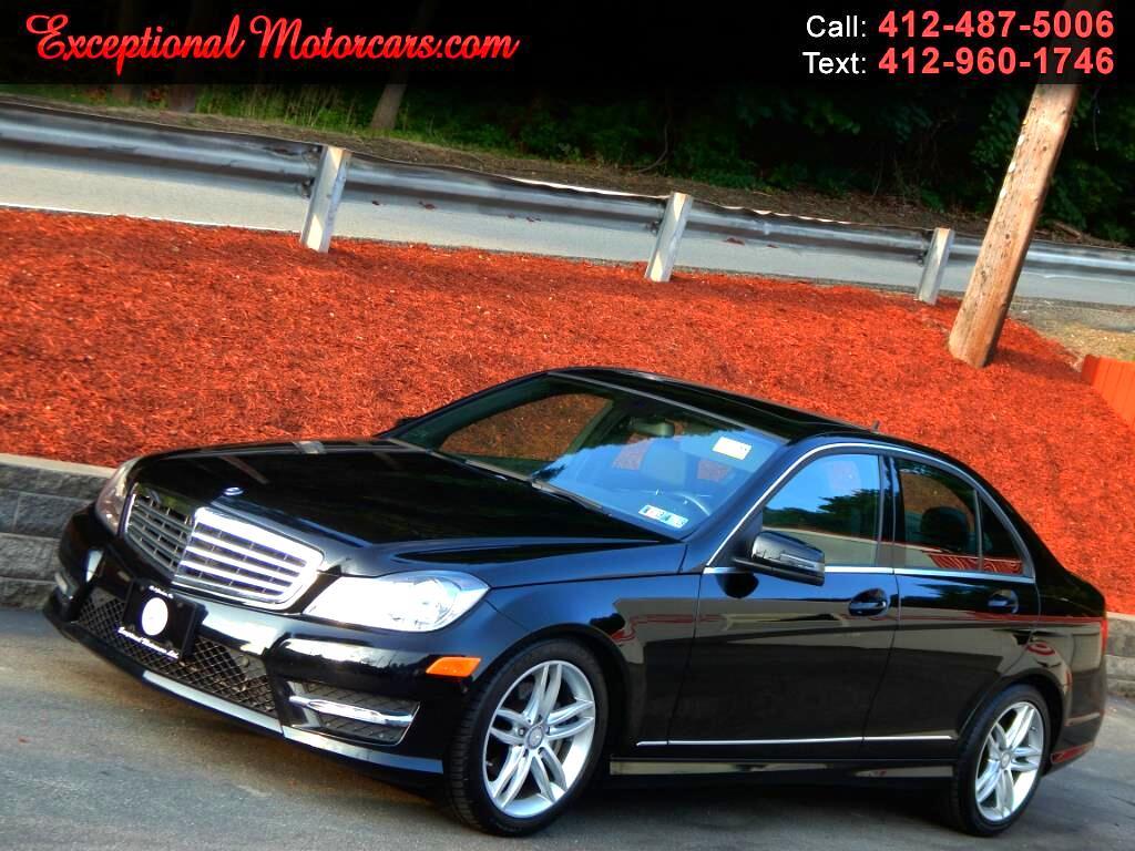 2012 Mercedes-Benz C-Class C300 4MATIC Luxury Sedan