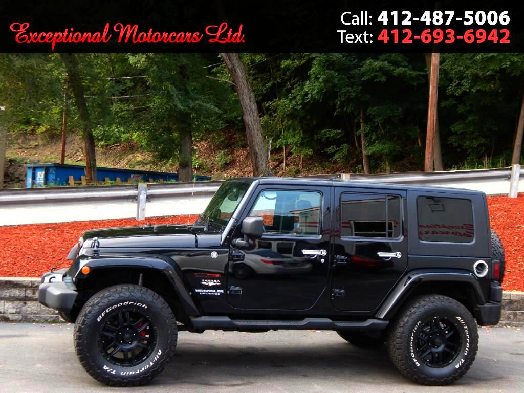 2010 Jeep Wrangler Unlimited 4WD 4dr Sahara