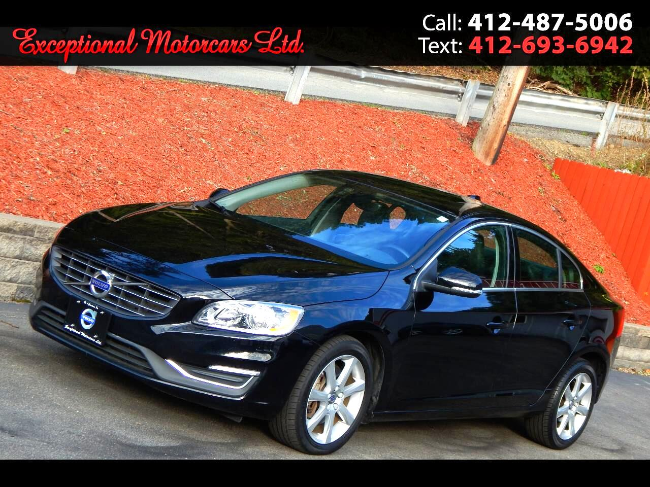 2016 Volvo S60 4dr Sdn T5 Premier AWD