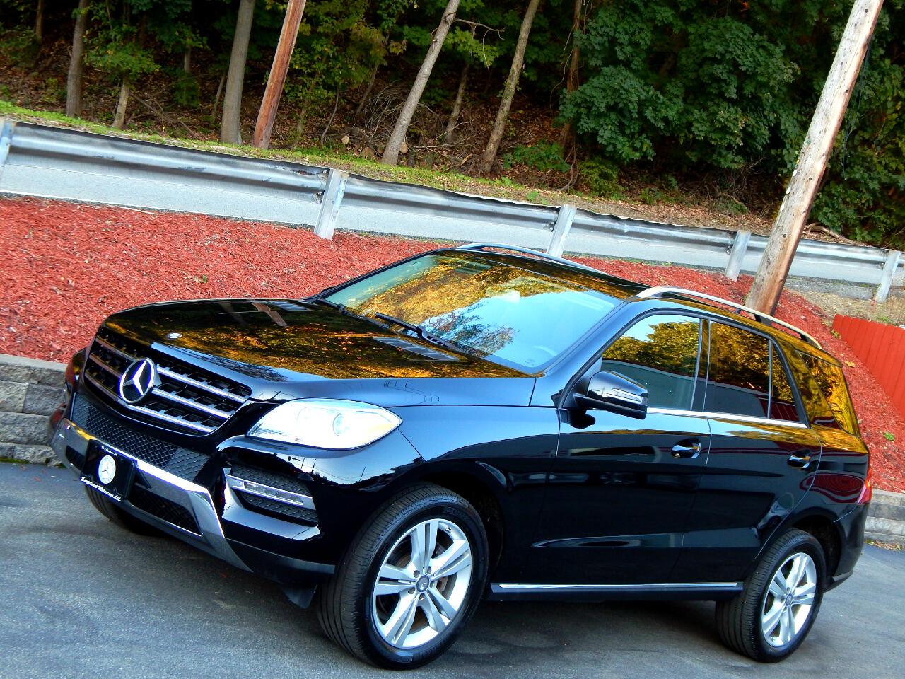 2015 Mercedes-Benz M-Class 4MATIC 4dr ML 350