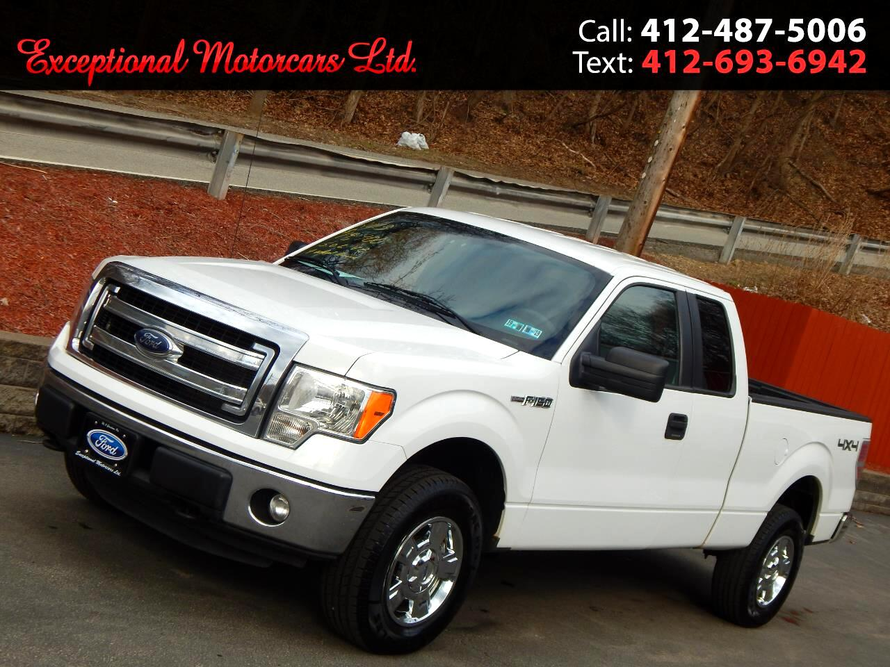 "2013 Ford F-150 4WD SuperCab 145"" XLT"