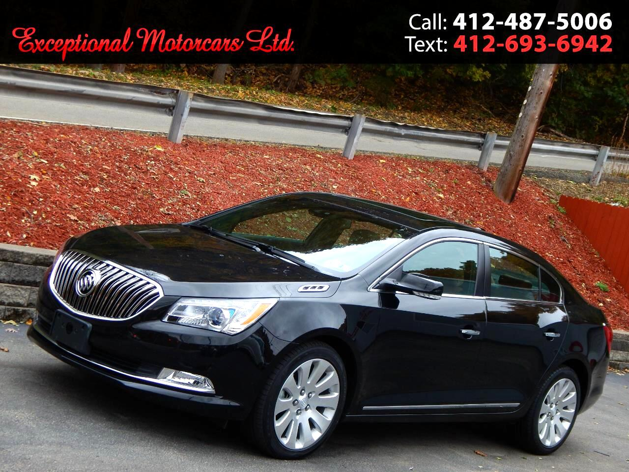 2016 Buick LaCrosse 4dr Sdn Leather AWD