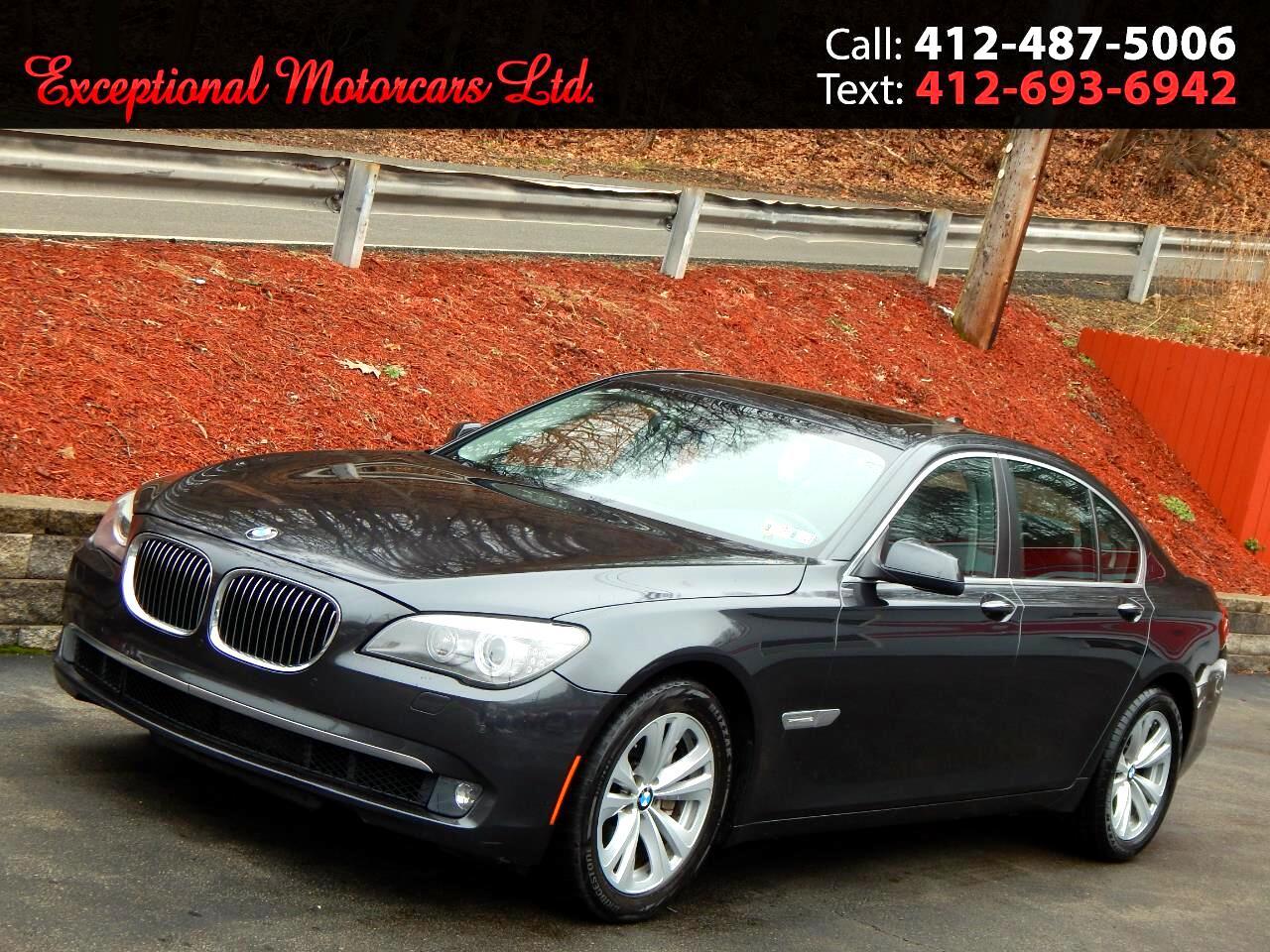 2011 BMW 7 Series 4dr Sdn 740i RWD