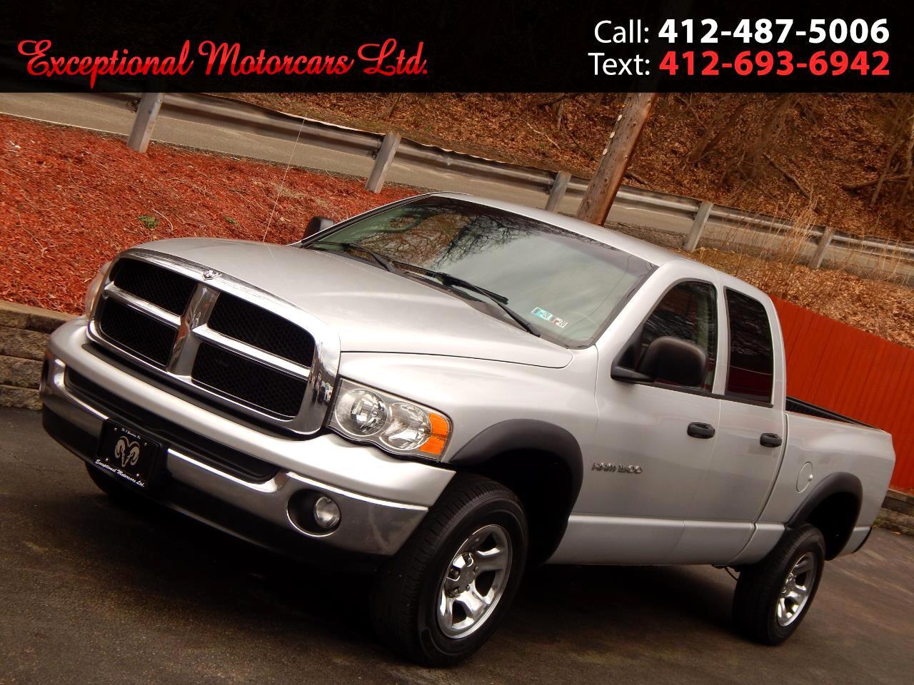 "2005 Dodge Ram 1500 4dr Quad Cab 140.5"" WB 4WD SLT"
