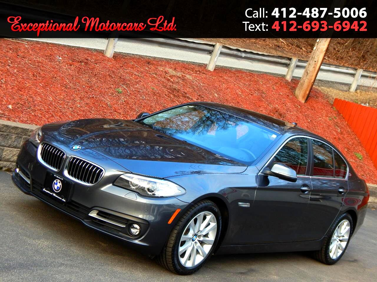 2016 BMW 5 Series 4dr Sdn 535i xDrive AWD
