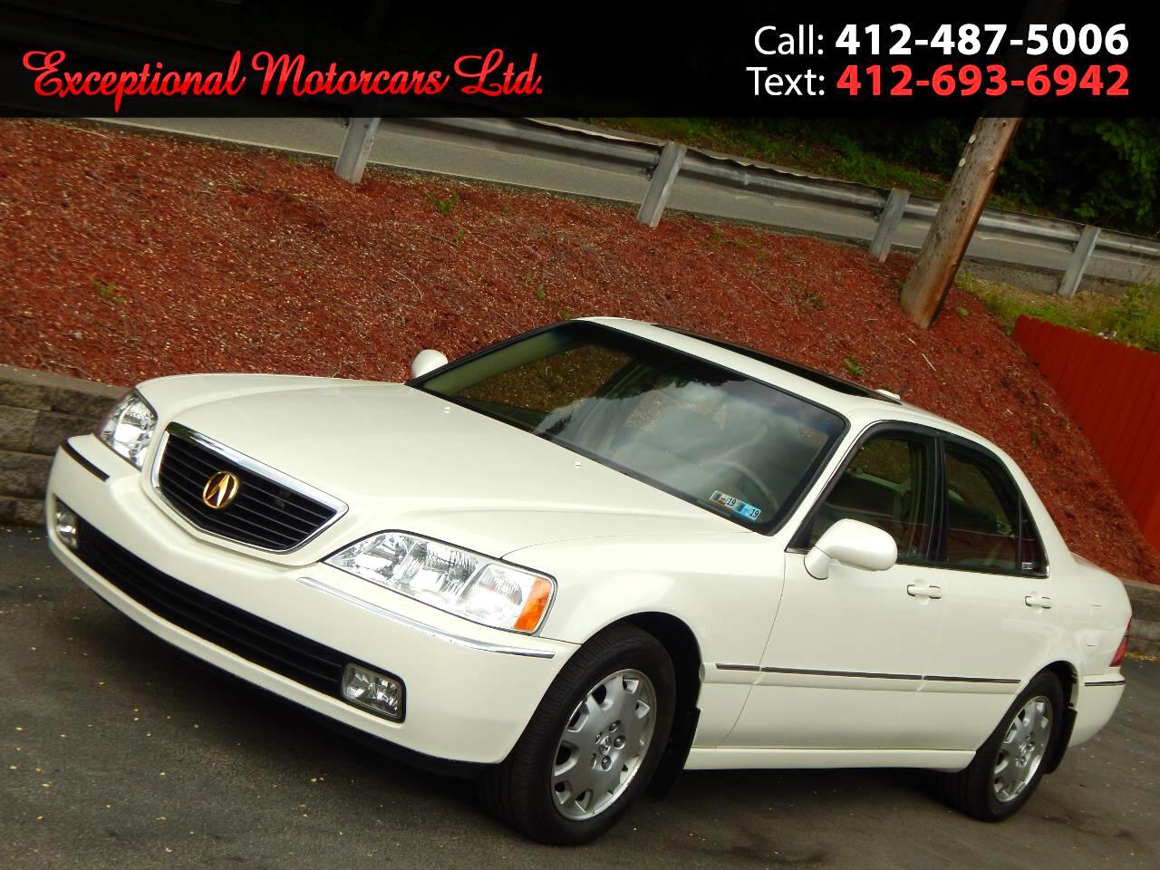 2004 Acura RL 4dr Sdn w/Navigation System