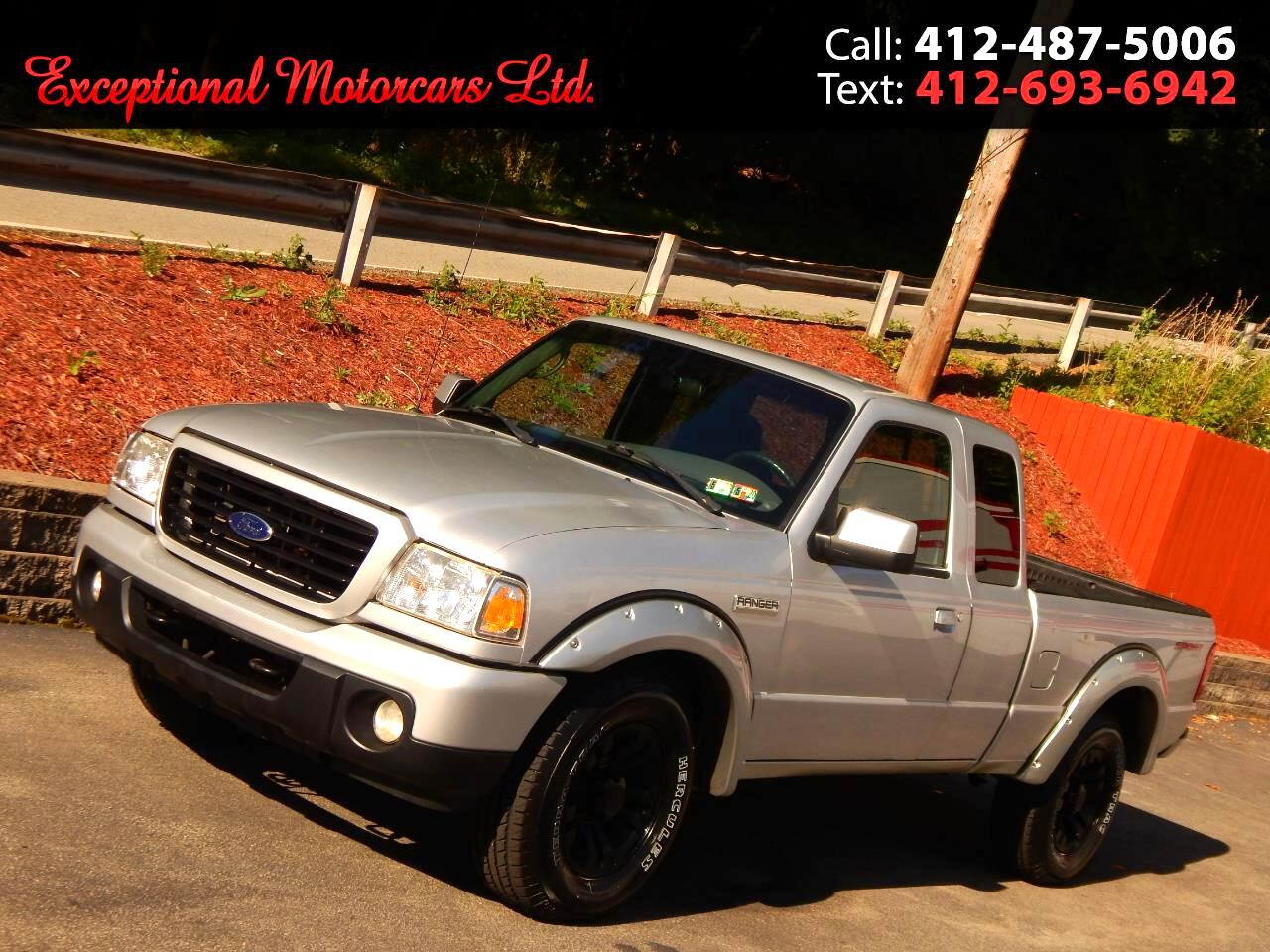 2009 Ford Ranger Sport SuperCab 4WD