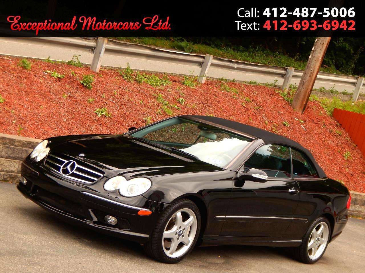 2004 Mercedes-Benz CLK-Class 2dr Cabriolet 5.0L