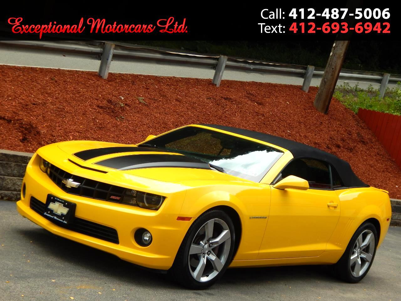 2011 Chevrolet Camaro 2dr Conv 2SS